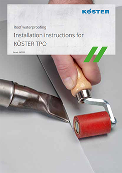 Installation Instructions for TPO Roofing Membranes